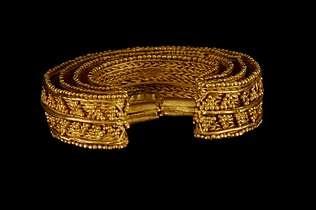 Arracada de Burela, séculos I-III d.C.