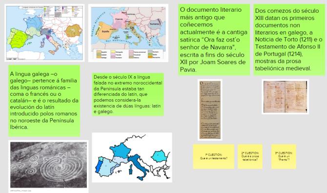 As orixes do galego